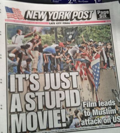 * Muslim uprising New York Post
