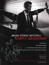 Brian Stokes Mitchell autograph