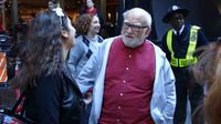 Ed Asner at Broadway Flea Market