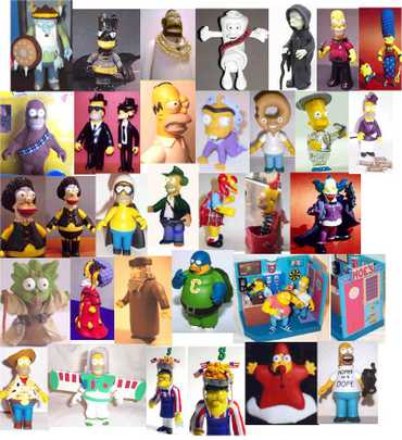 Homemadesimpsonsfigurines